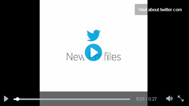 Como funcionam os vídeos no Twitter?