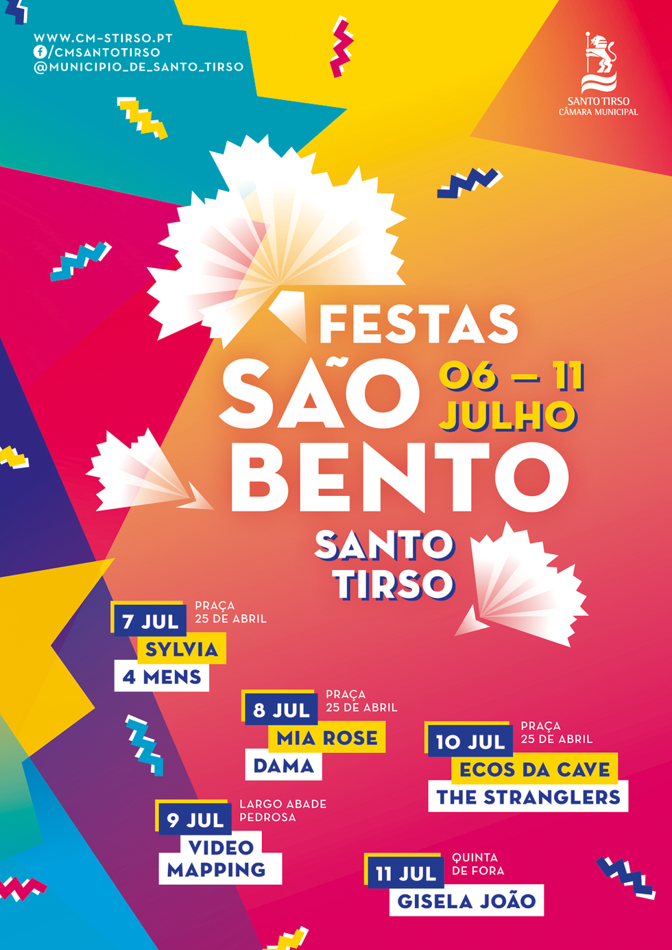 Cartaz Festas de São Bento 2017